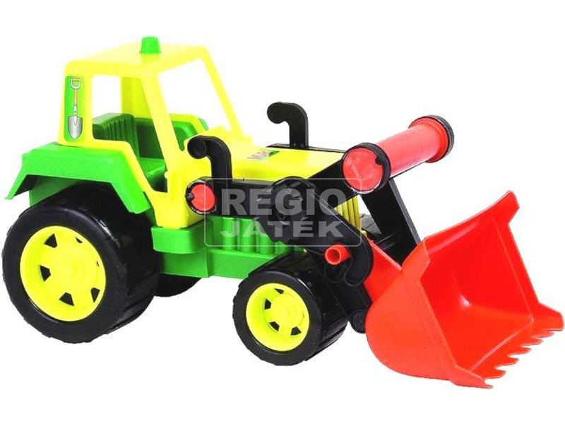Játék traktor markolóval - többféle