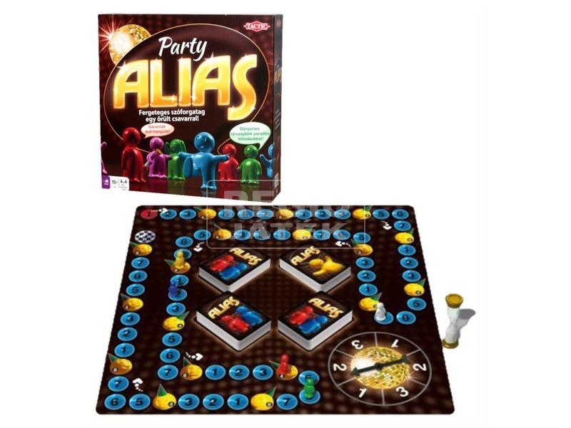 kép nagyítása Tactic - Party Alias társasjáték