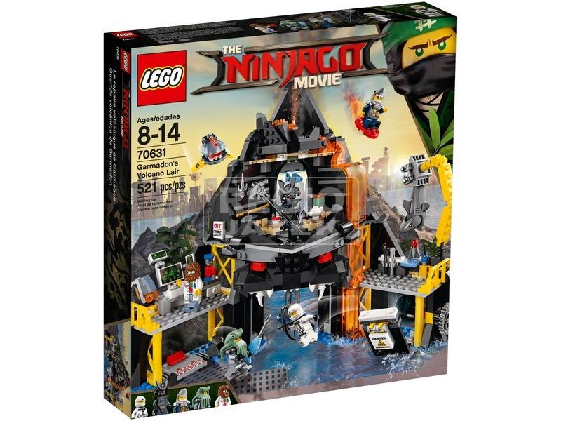 LEGO® Ninjago Garmadon vulkánbarlangja 70631