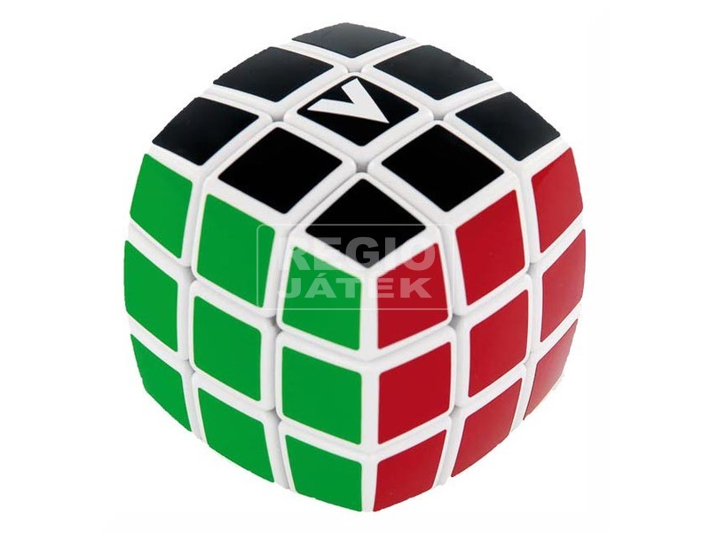 kép nagyítása V-CUBE 3x3 versenykocka-fehér alapszín