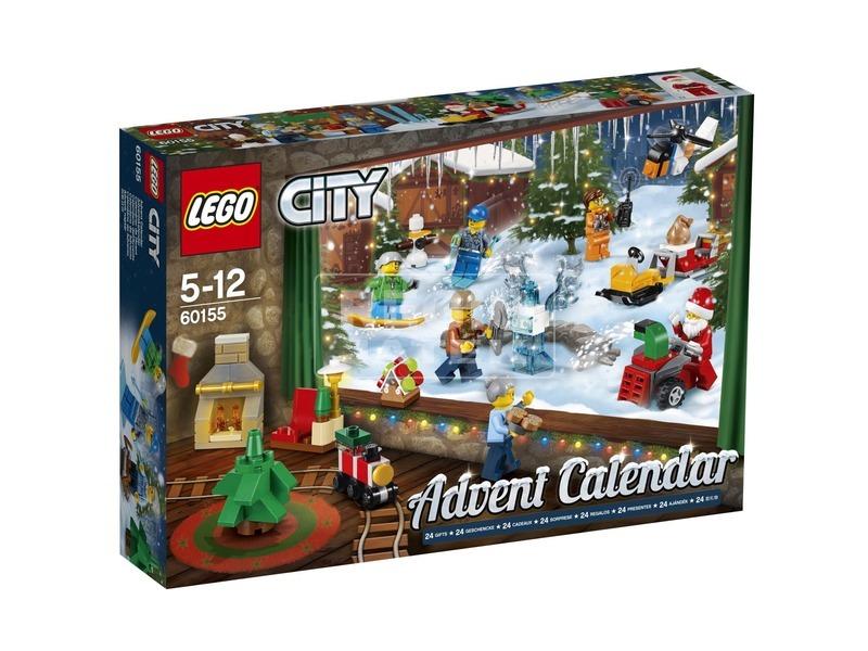 LEGO City 60155 Adventi naptár