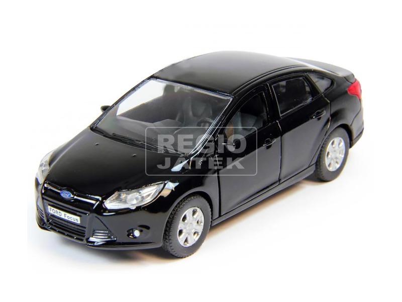 kép nagyítása Ford Focus fém kisautó - fekete, 1:36