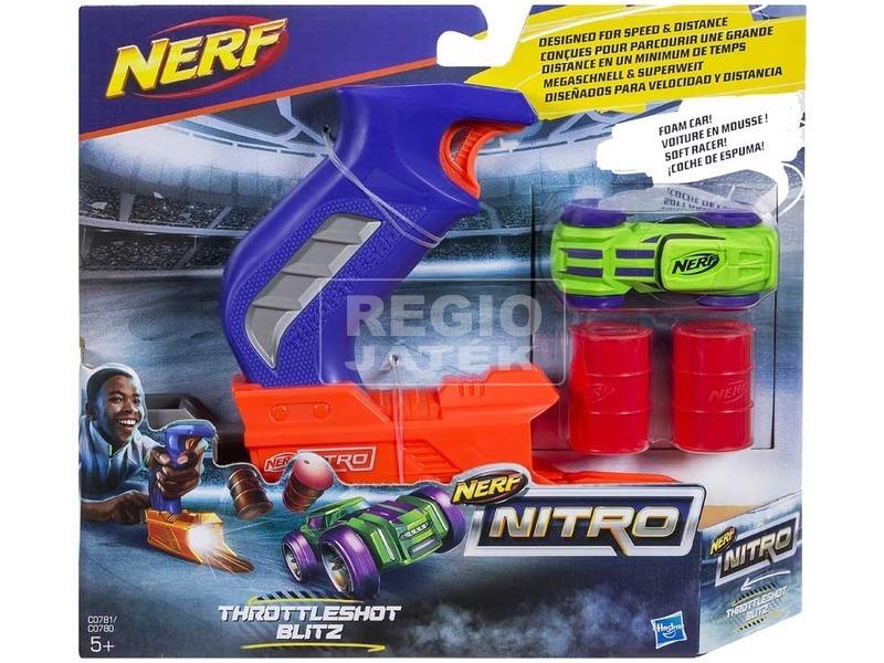 NERF Nitro Throttleshot kilövő - többféle