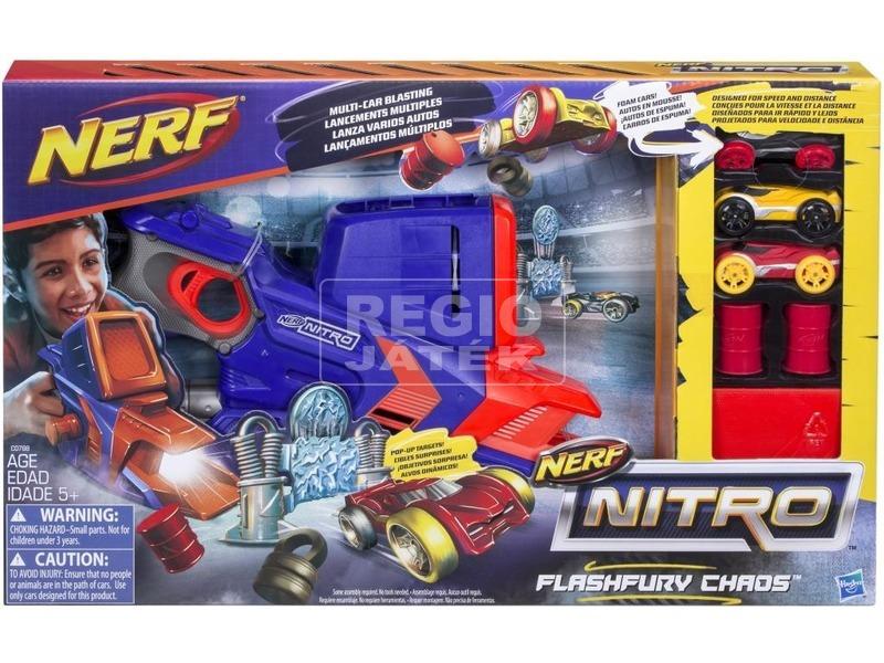 NERF Nitro Flashfury Chaos autókilövő