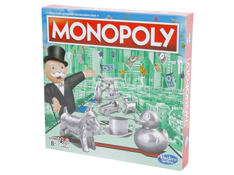 Monopoly társasjáték - új kiadás
