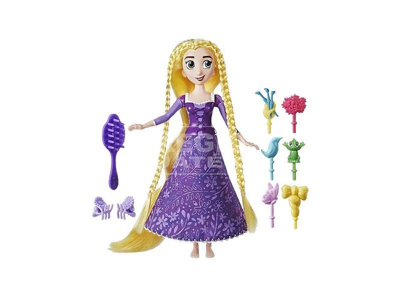kép nagyítása Disney hercegnők Aranyhaj hajformázó baba - 30 cm