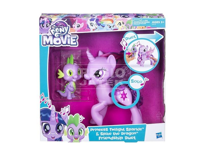 Én kicsi pónim Twilight Sparkle és Spike készlet