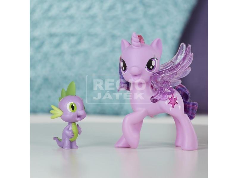 kép nagyítása Én kicsi pónim Twilight Sparkle és Spike készlet