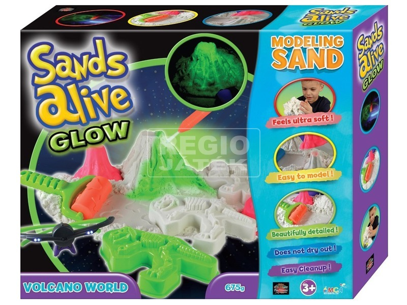 Sands Alive világító Vulkán készlet