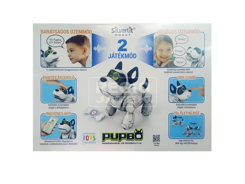 kép nagyítása Robomancs, az okoskutya robot figura - 19 cm