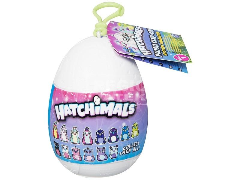 Hatchimals kulcstartó plüss tojásban
