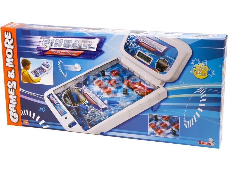 Pinball Racing flipper játék