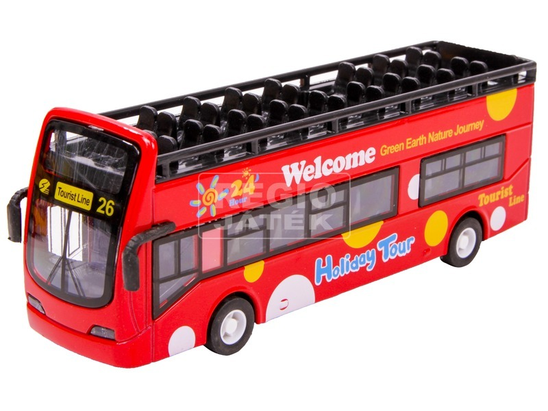 kép nagyítása Emeletes busz - 1:32, többféle
