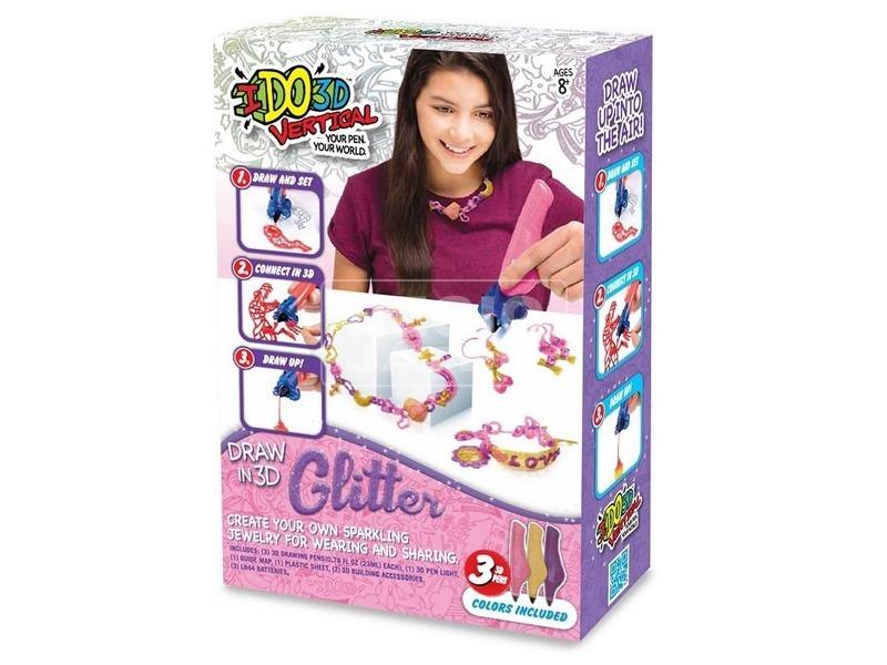 kép nagyítása I DO 3D függőleges 3 darabos készlet lányoknak