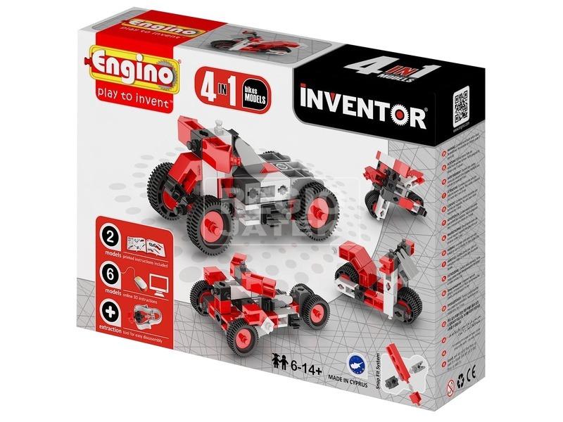 Engino - INVENTOR 4 IN 1 Motorok