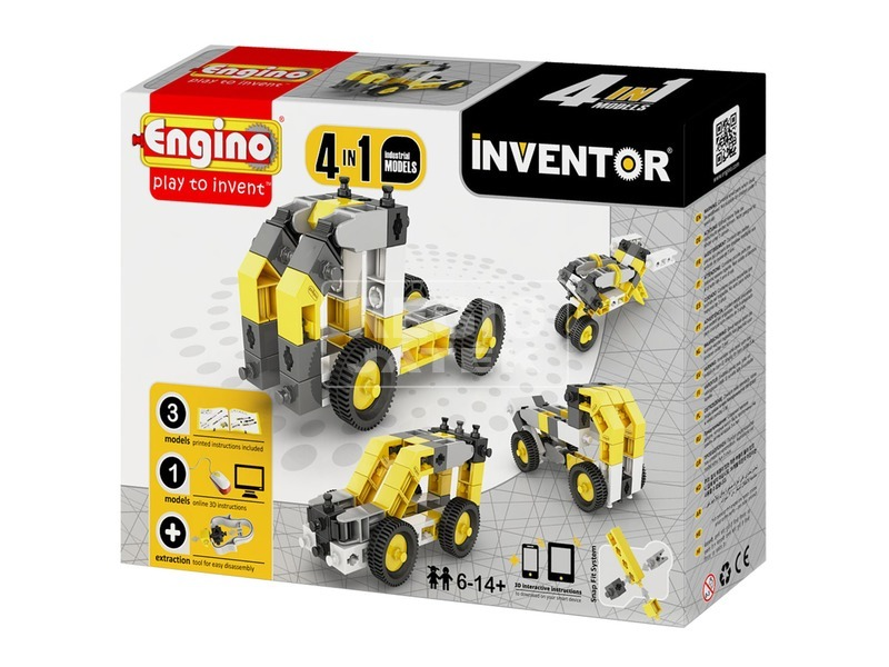Engino - INVENTOR 4 IN 1 Ipari járművek
