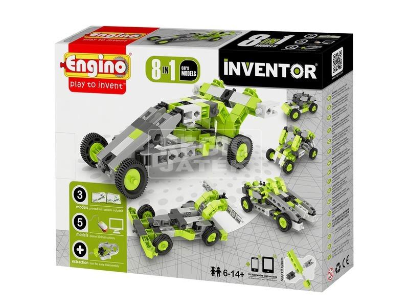 Engino - INVENTOR 8 IN 1 Autók