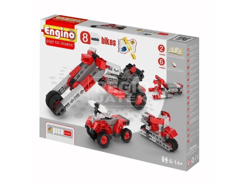 Engino - INVENTOR 8 IN 1 Motorok