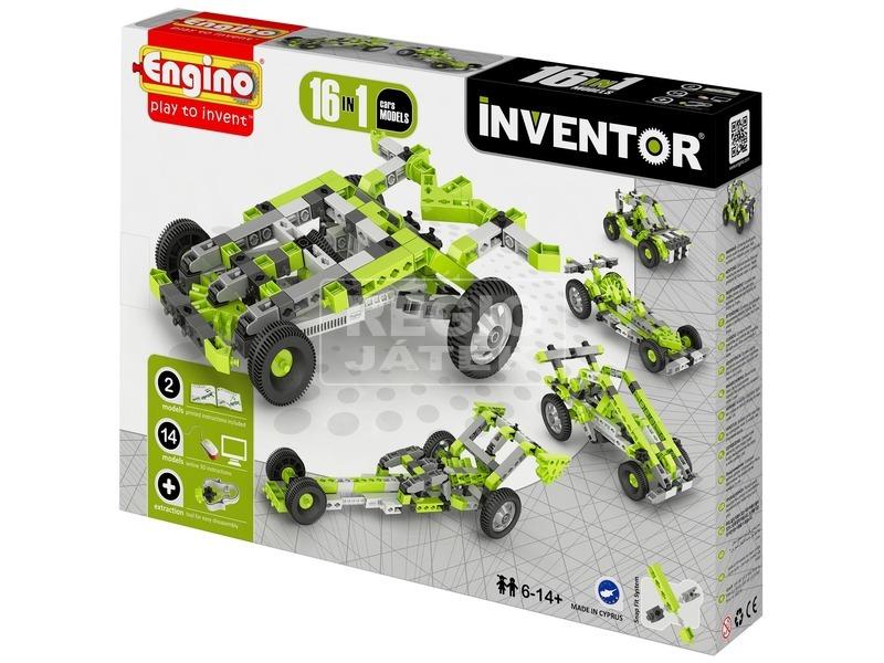 Engino - INVENTOR 12 IN 1 Autók