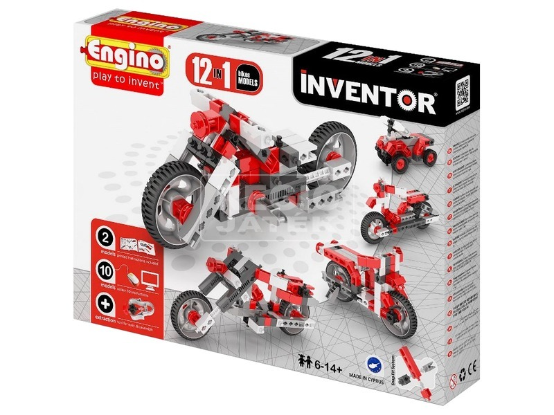 Engino - INVENTOR 12 IN 1 Motorok