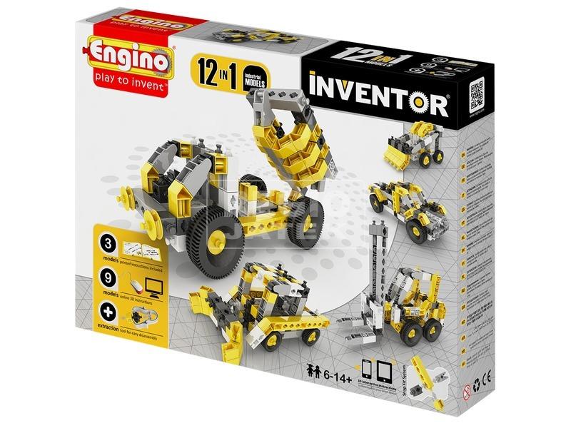 Engino Inventor munkagép 12 az 1-ben készlet