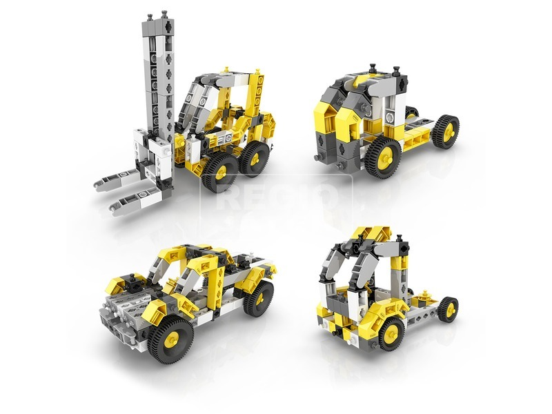 kép nagyítása Engino - INVENTOR 12 IN 1 Ipari járművek