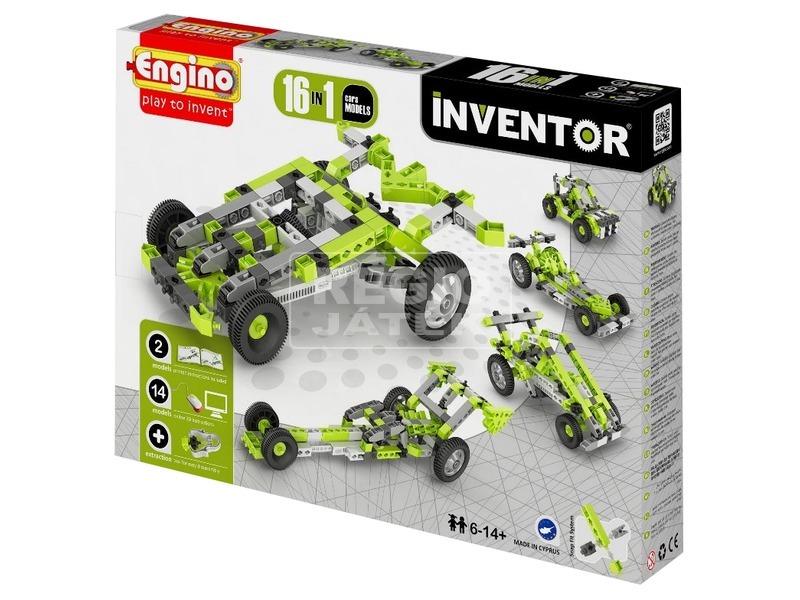 Engino - INVENTOR 16 IN 1 Autók