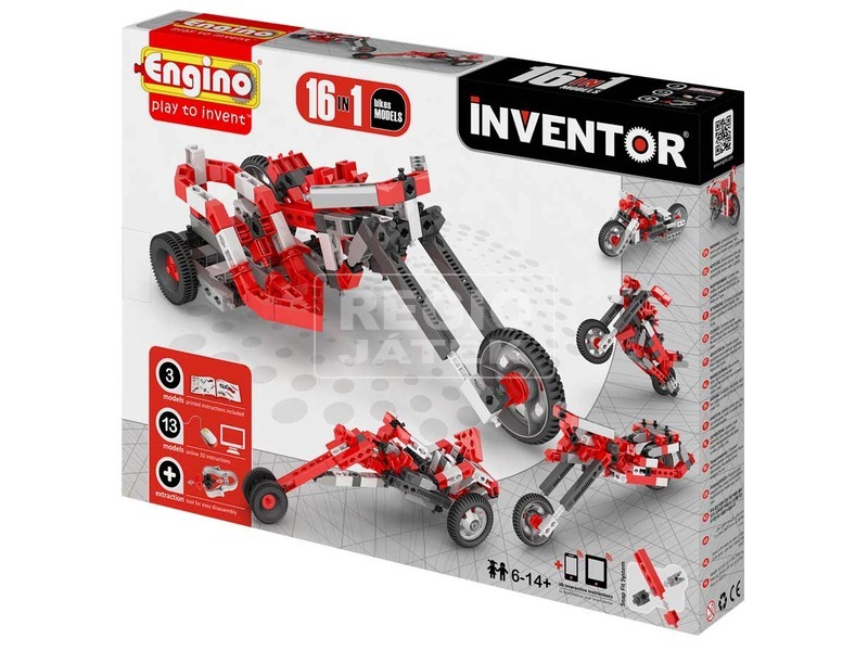 Engino - INVENTOR 16 IN 1 Motorok