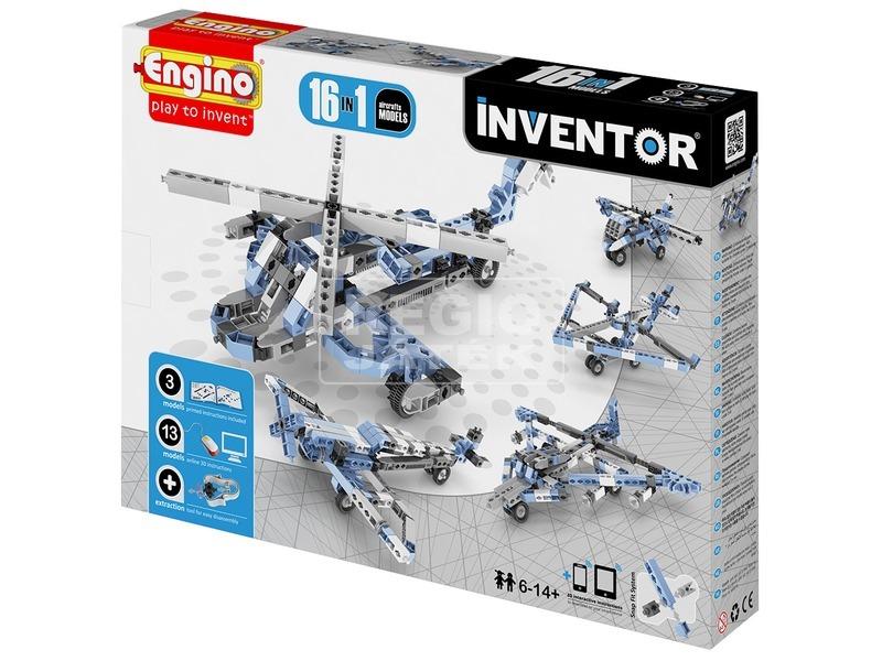 Engino Inventor légi jármű 16 az 1-ben készlet
