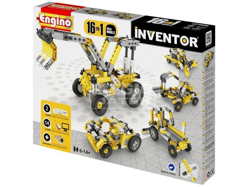 Engino - INVENTOR 16 IN 1 Ipari járművek