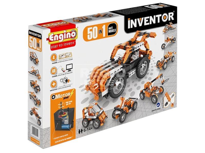 Engino Inventor motorizált 50 az 1-ben készlet