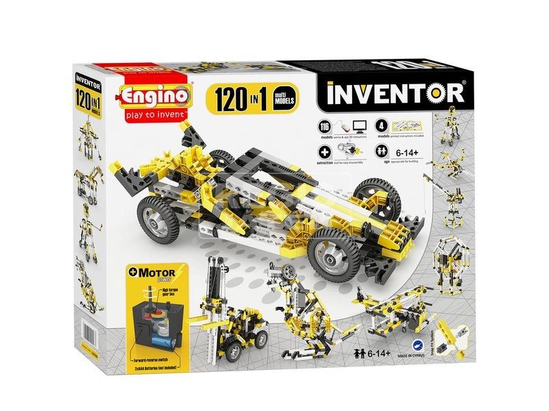 Engino Inventor motorizált 120 az 1-ben készlet