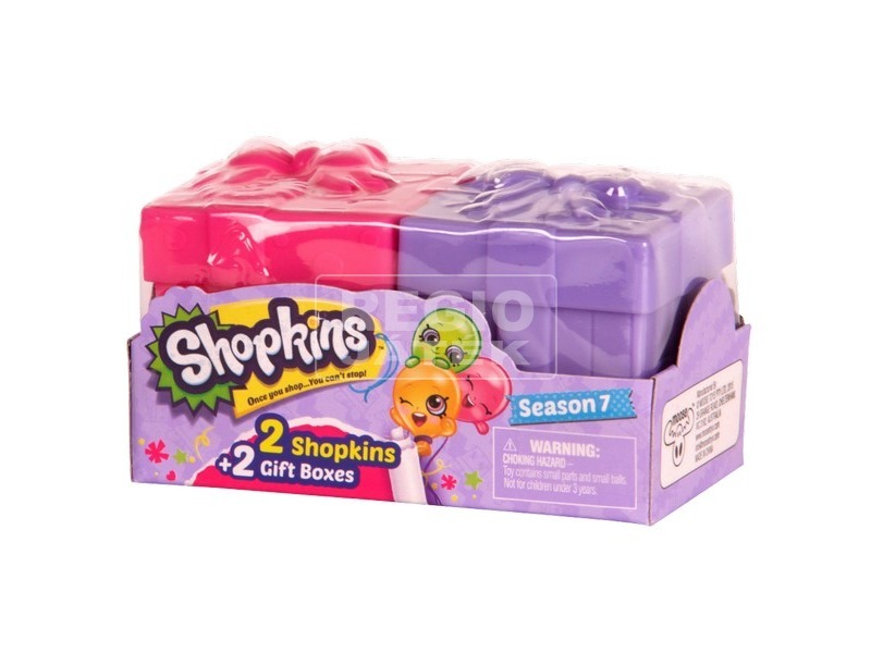 Shopkins S7 2db-os
