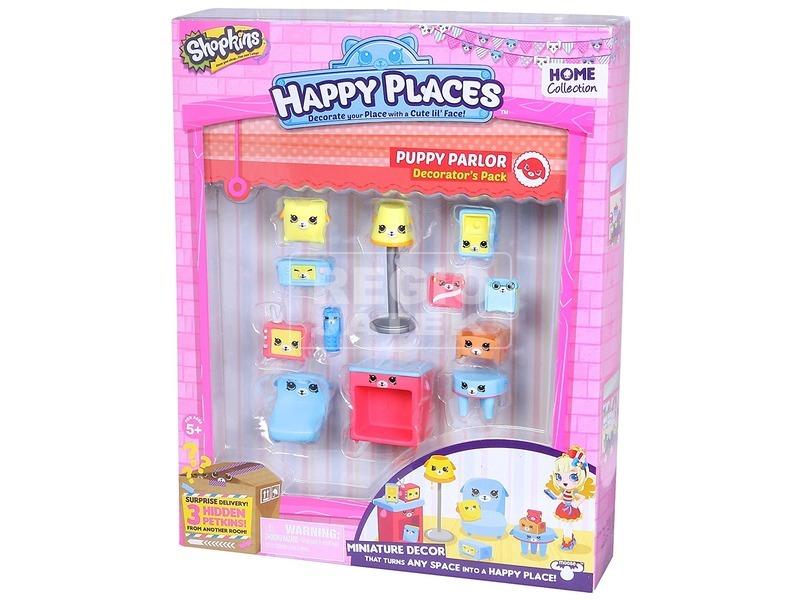Happy places Dekoráló szett