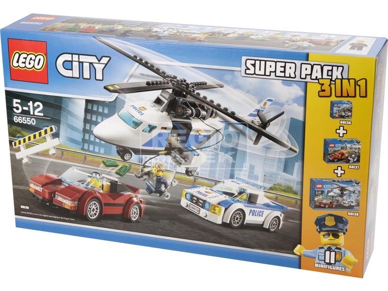 LEGO City 3 az 1-ben rendőrségi készlet 66550