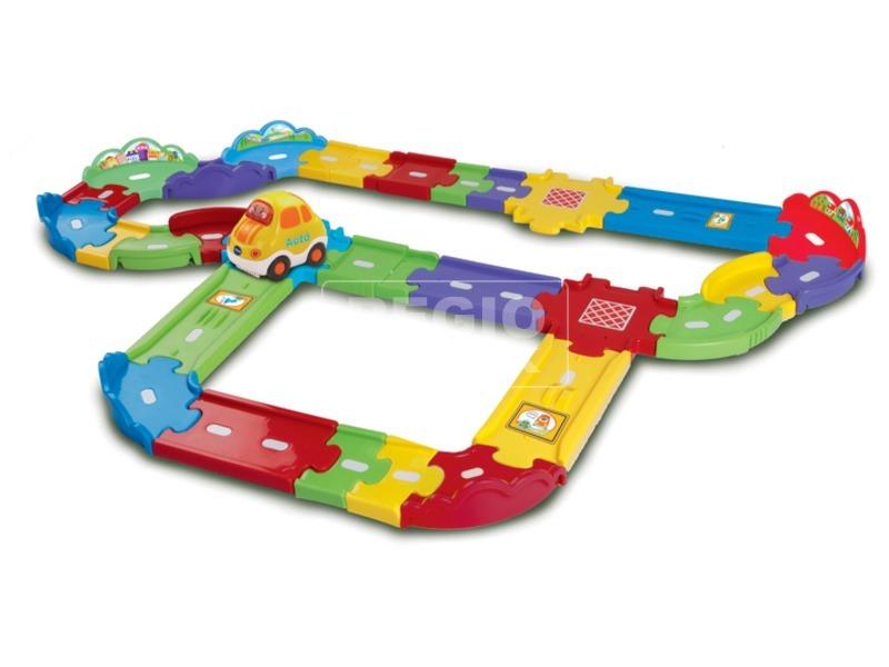 kép nagyítása Toot-Toot kisautók - autópálya