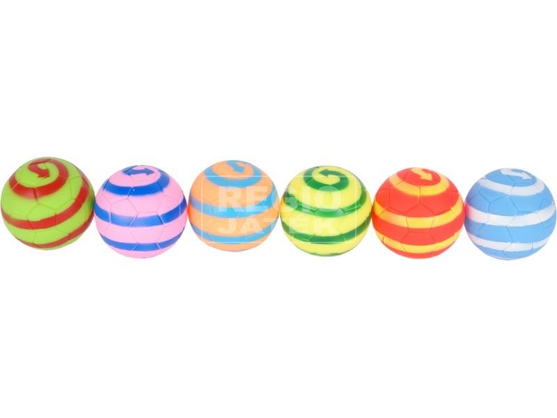 Labdák 6 darabos fürdőjáték - spirál mintás