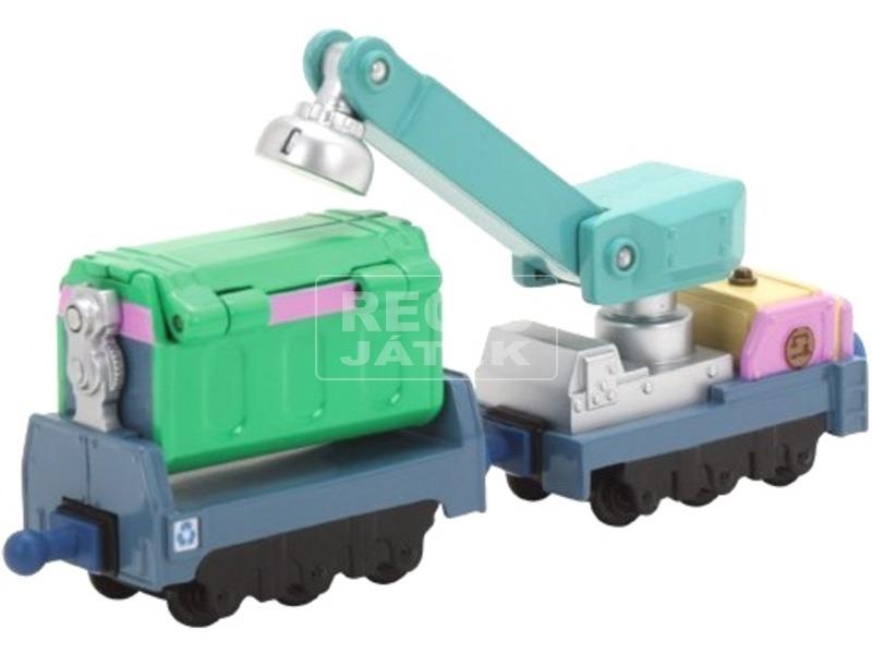 Chuggington fém Irving hulladékszállító vagonja