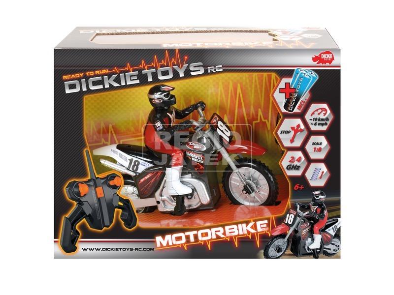 Dickie RC Motorkerékpár 1:8 2, 4GHz