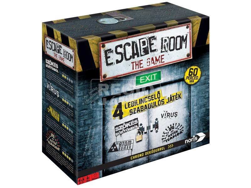 Escape Room szabaduló társasjáték