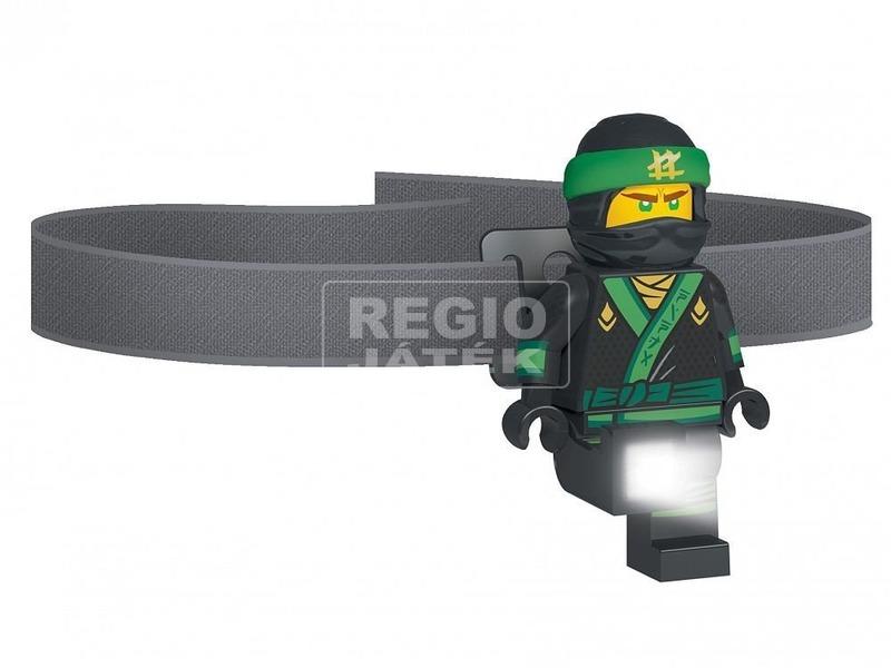 LEGO Ninjago Lloyd fejlámpa elemes