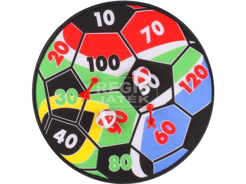 Focilabda mintás darts tábla