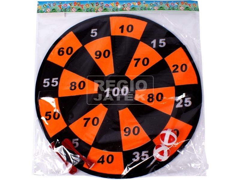 Tépőzáras darts tábla - 36 cm