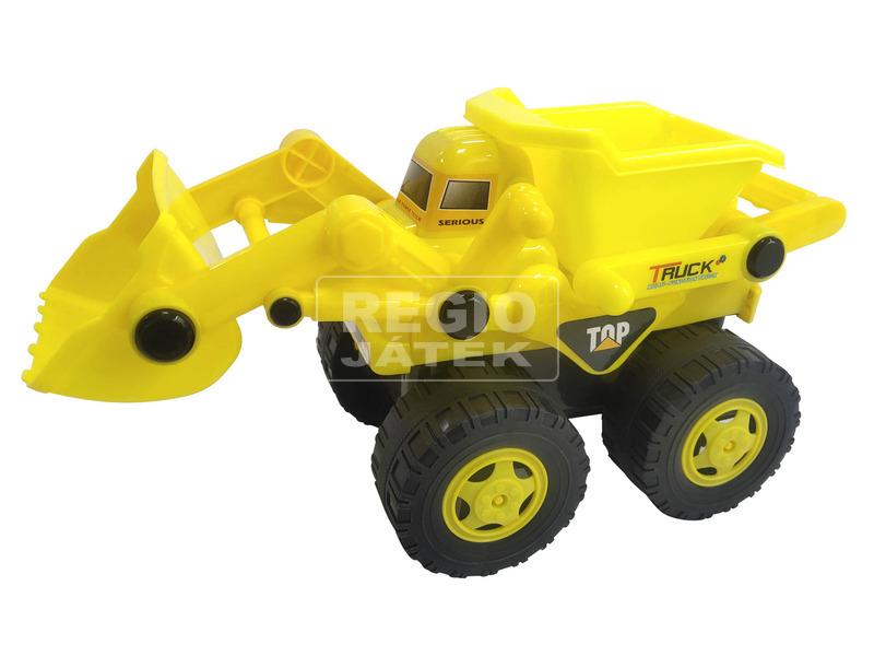 Top Truck műanyag teherautó - 28 cm