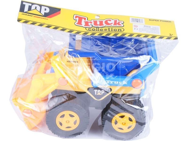 kép nagyítása Top Truck műanyag teherautó - 28 cm