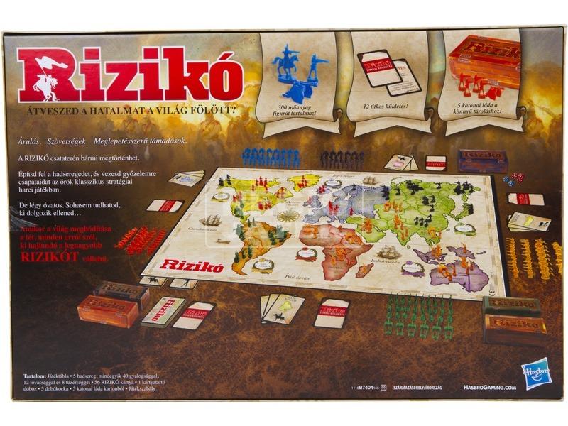 kép nagyítása Rizikó - Világhódítók játéka