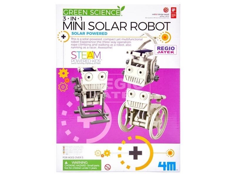 kép nagyítása 4M 3 az 1-ben napelemes robot