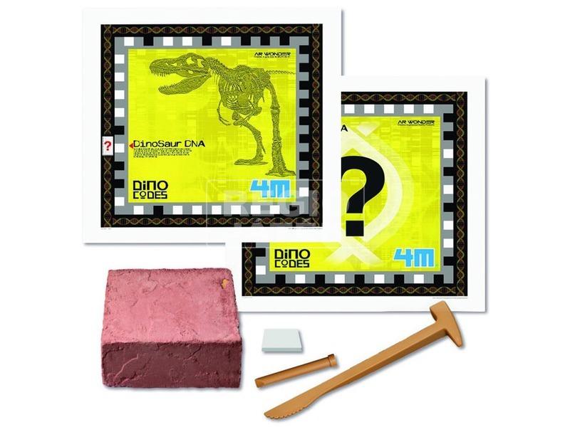 kép nagyítása 4M Triceratops DNS készlet
