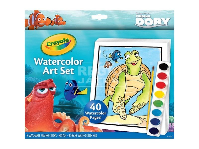 Crayola: Szenilla nyomában kifestő vízfestékkel