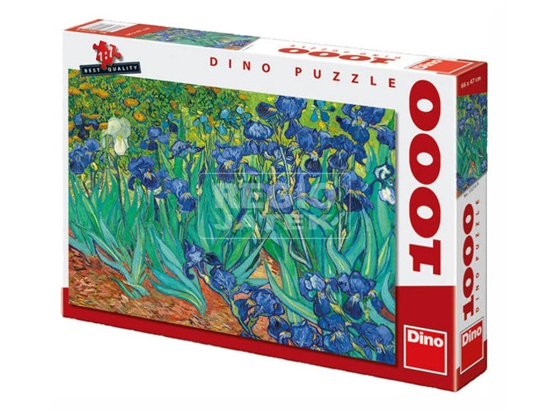 Van Gogh: Íriszek 1000 darabos puzzle